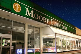 Moore Furniture new storefront
